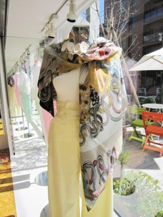 Huihui-scarf ¥28350